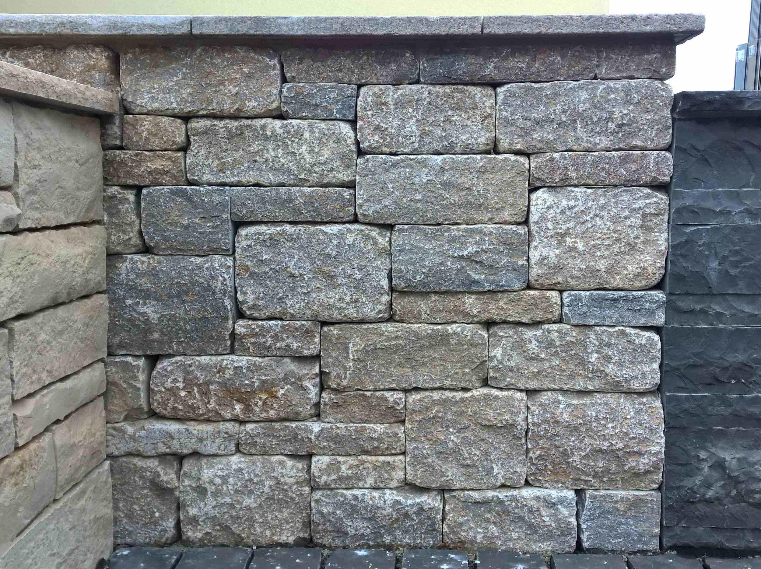 Muschelkalk Mauer muschelkalk rebmauerwerk gekollert produkt cremer